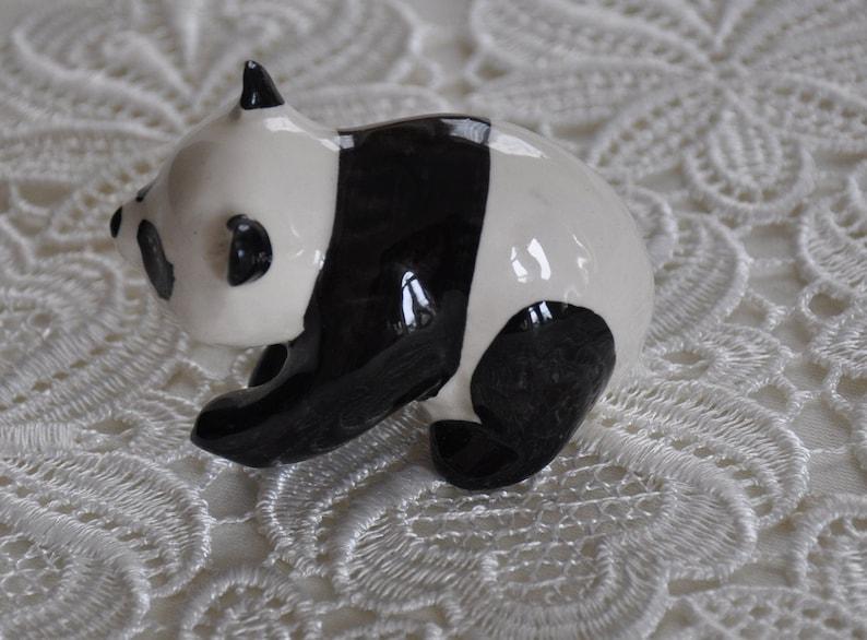Beswick Vintage Beswick Black/white Panda Pottery With Label
