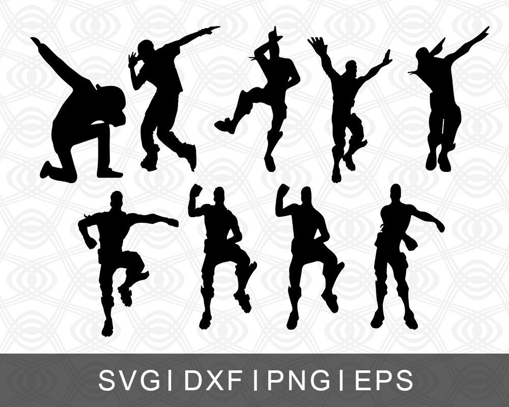 Fortnite Dance Moves Collage Svg Png Eps Dxf Etsy