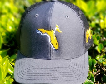 29ee4ca8a83ba0 ... usa pyf cxii meshback hat orlando florida charcoal black gold ucf  knights color theme ec8bd 0ec91