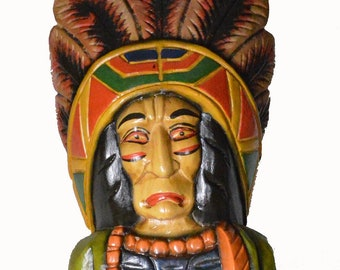 Cigar Store Indian Etsy