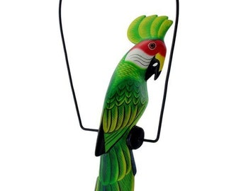 Parrot decor | Etsy