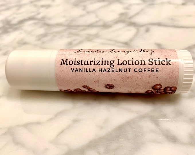 Moisturizing Lotion Stick (Vanilla Hazelnut Coffee)