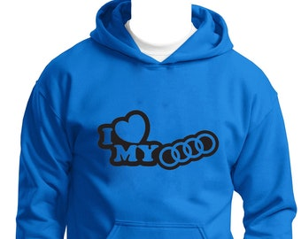 DON/'T TOUCH MY AUDI CARBON FIBER SWEATSHIRT GREAT GIFT PRESENT FOR AUDI FANS