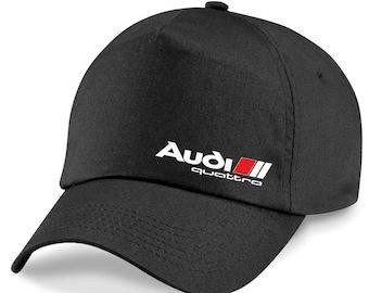 6f7e912eab6 NEW Audi Quattro Cap Baseball Stylish Hat Car Adults