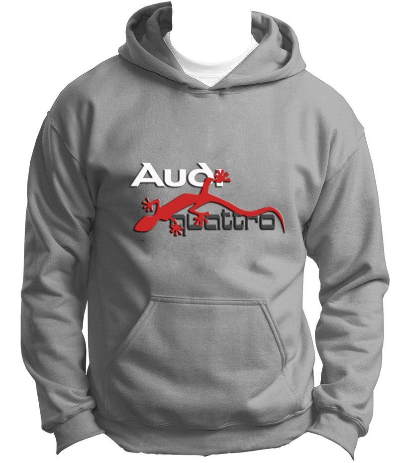 NEW Audi Quattro Hoodie Hoody Hooded Sweatshirt Jumper Pullover