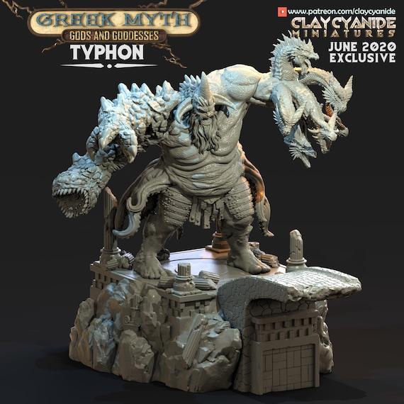 Makara \u2022 Gods of India \u2022 Clay Cyanide Miniatures \u2022 3D Printed Fantasy Miniature \u2022 D/&DPathfinder Warhammer
