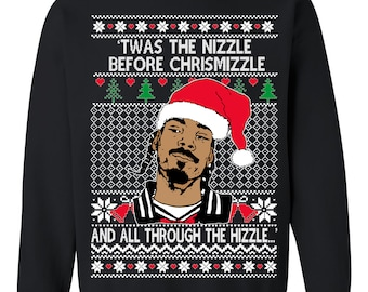 be096ca5a6f9 OnCoast Snoop Dog Fo Shizzle Dizzle | Snoop Dog Ugly Christmas Sweater |  Funny Ugly Christmas Sweater | Holiday Gift. OnCoast1. 5 out of ...