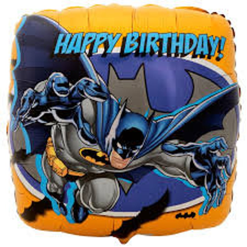 "18/"" Foil HELIUM Boys BIRTHDAY Character BALLOON Paw Patrol Batman Mickey Cars..."