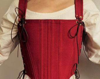 3794dc90e8 Scarlet Traveler Bodice Renaissance Corset