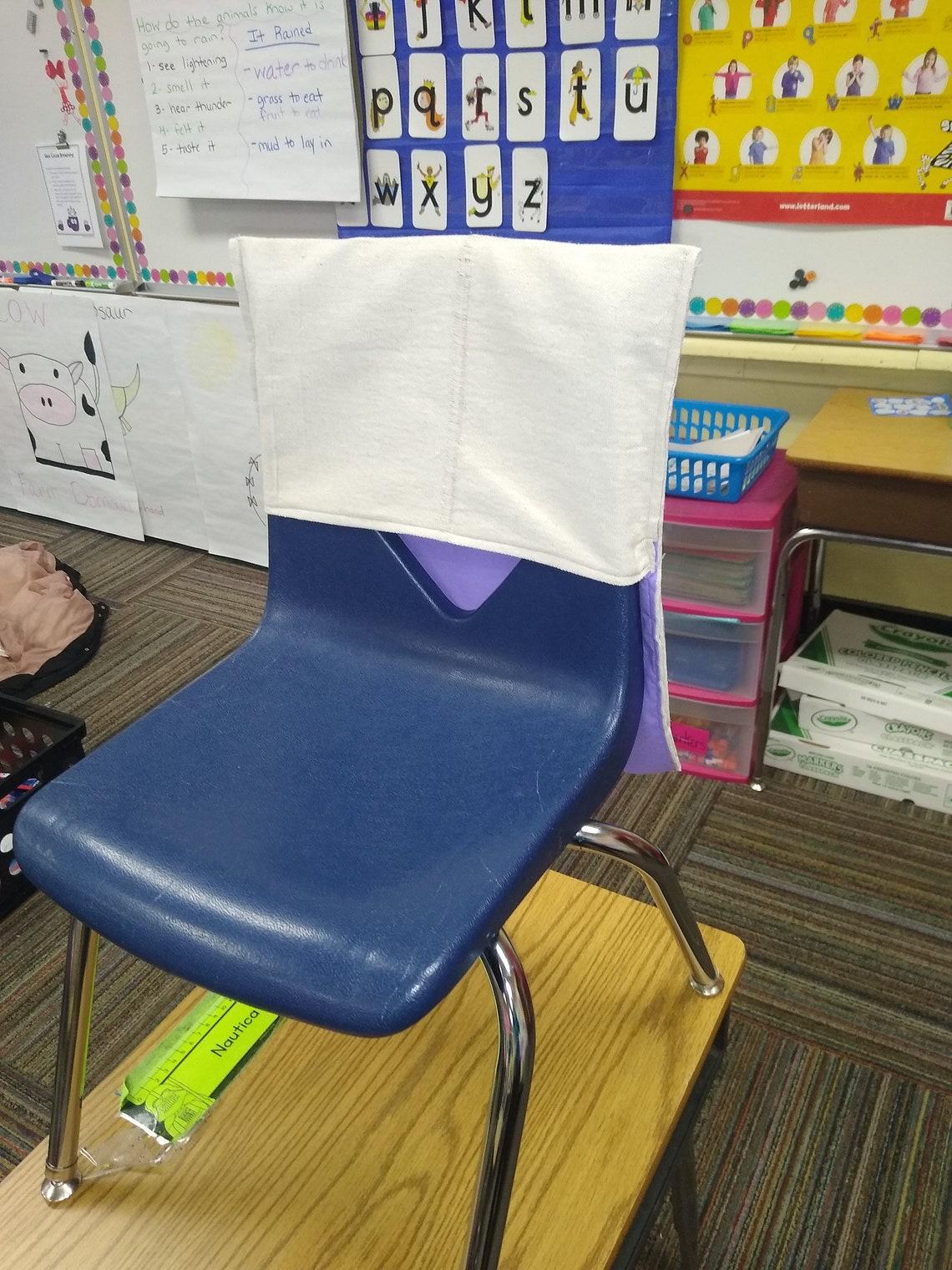 Classroom Chair Pockets Set   Etsy