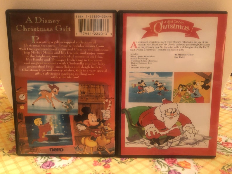 A Disney Christmas Gift Dvd.Disney S A Disney Christmas Gift A Walt Disney Christmas 2 Disc Christmas Special Collection On Dvd