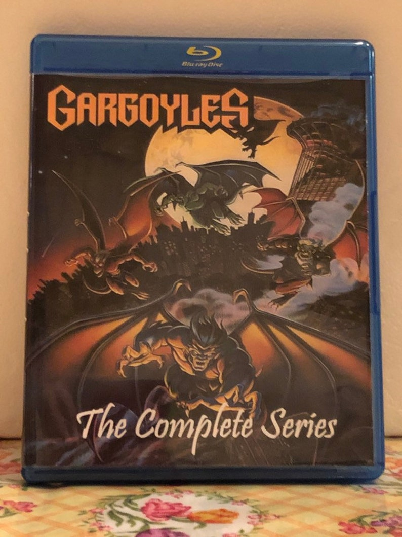 Disney Gargoyles the Complete Series all 3 seasons with 78 episodes on 4  Blu-ray Discs