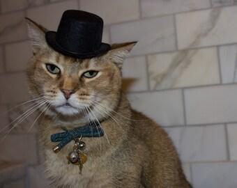 a1f4d5c647937 Black Top Hat Cat Hat FREE SHIPPING