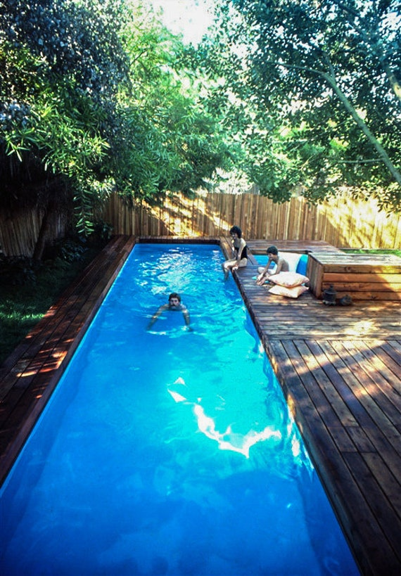 Lap Pool and Spa Plans by Stevenson, DIY, In-ground Pool, Build Your Own  Lap Swimming Pool and Spa!