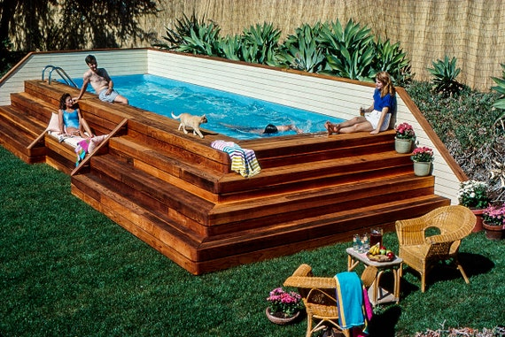 Above Ground Lap Pool Plans by Stevenson Projects, DIY, Build Your Own Lap  Swimming Pool!