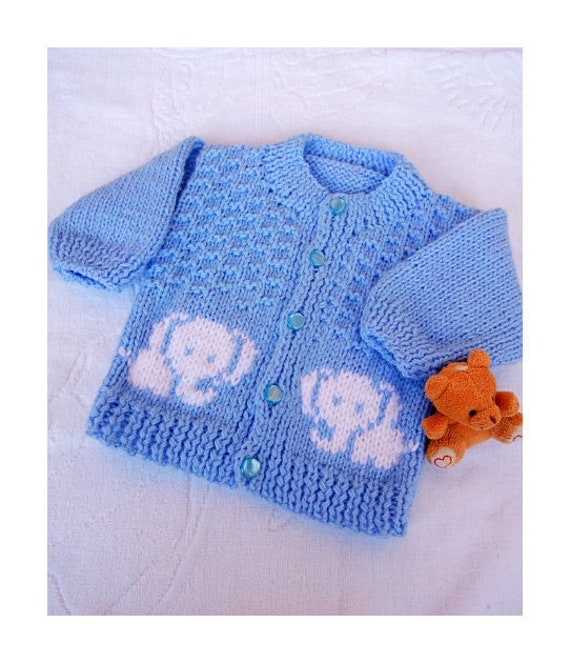 3-6 6-9 Months Brand New Hand Knitted Pale Blue Baby Bonnet 0-3