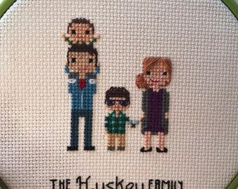 Custom cross stitch | Etsy