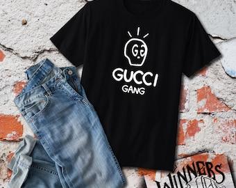 6b902250 Gucci Gang Parody Graphic Tee Custom T-Shirt Design S-2XL