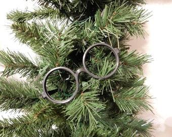 Harry Potter inspired Harry's glasses Christmas ornament