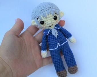 Anime Crochet Doll   Crochet dolls, Crochet doll, Knitted dolls   270x340