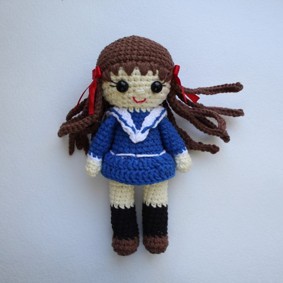 Mori Girl Amigurumi Crochet Anime Doll by Sylemn on DeviantArt | 570x570