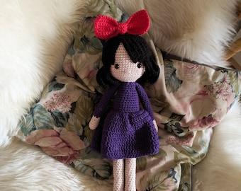 Little witch girl - amigurumi pattern