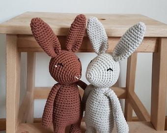 Basile the blissful bunny crochet pattern