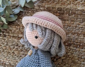 Chibi Sophie - crochet doll pattern