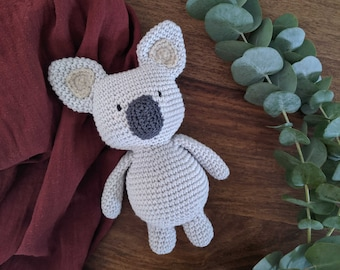 Kirua the chubby koala - Amigurumi pattern