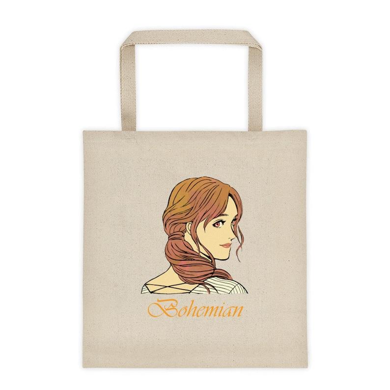 Boho Tote Bag Bohemian Style Beach Bag