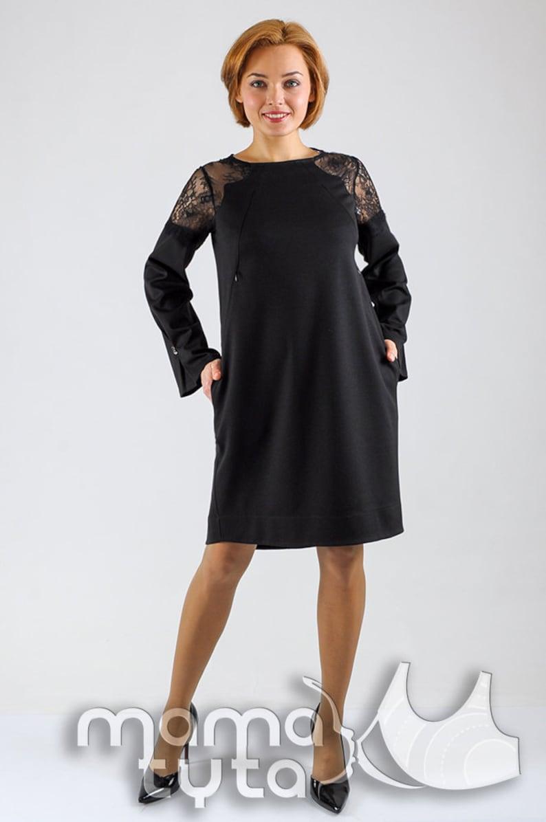 Breastfeeding cocktail dress Business dress Nursing dress Pregnancy dress Maternity gown 3in1 Gift for new Mom