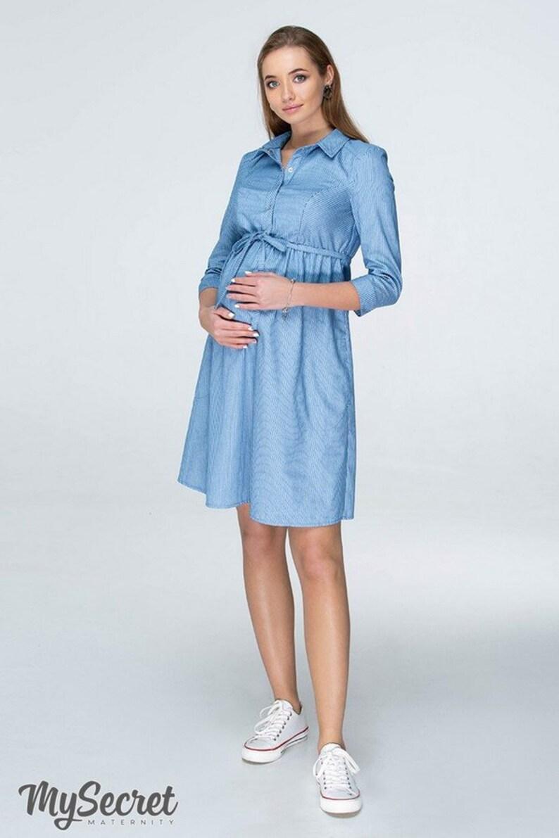 671071c42cda Lexie nursing cozy dress Breastfeeding dress Pregnancy dress