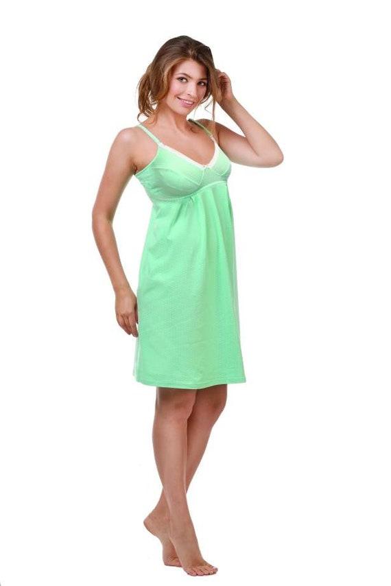 Hospital gown Nursing nightie Pregnancy gown Nursing gown   Etsy