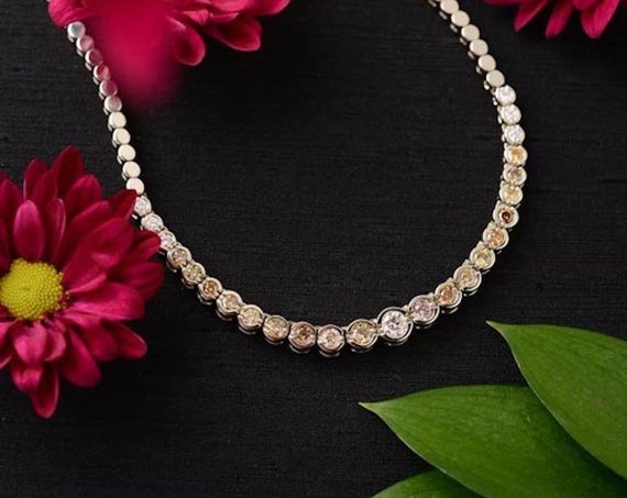 Sparkly DiamondStatement Necklace