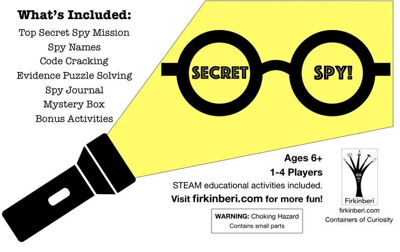 Secret Spy Creativity Kit