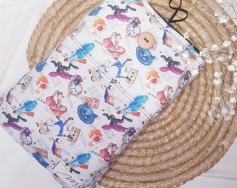 Alicia pocketed case, padded book case, book cover, book cover, per llibre case, Book sleeves