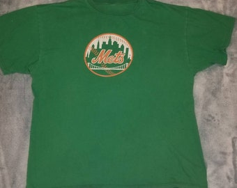 Vintage Green NY Mets   Geico t-shirt. Early 90 s 2d38f4882