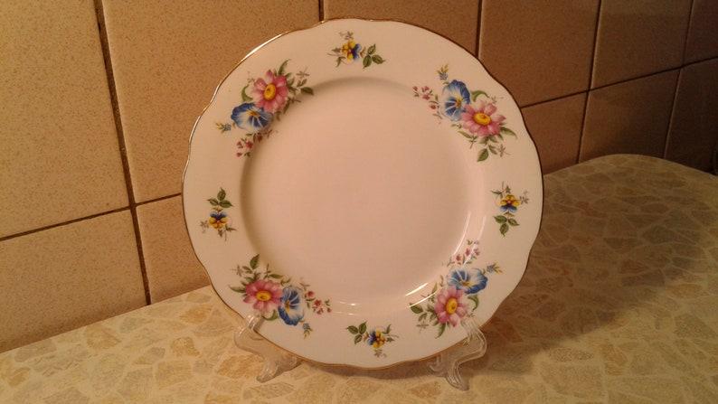 Antique Decorative Arts Antiques Rare Collectible Russian Dulevo Porcelain Decorative Plate
