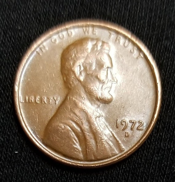 1972-D Penny