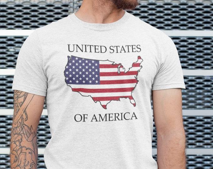 United States of America -- Short Sleeve T-shirt