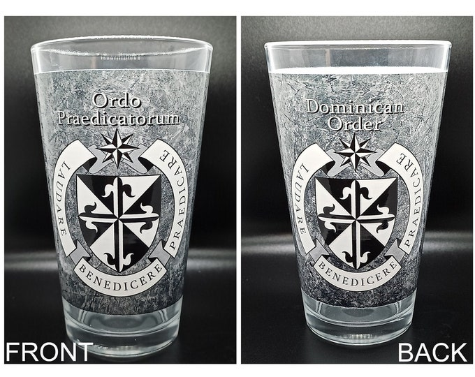 Dominican Order Special Print Pint Glass