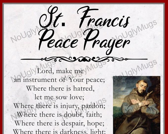 Digital Download: St. Francis Peace Prayer