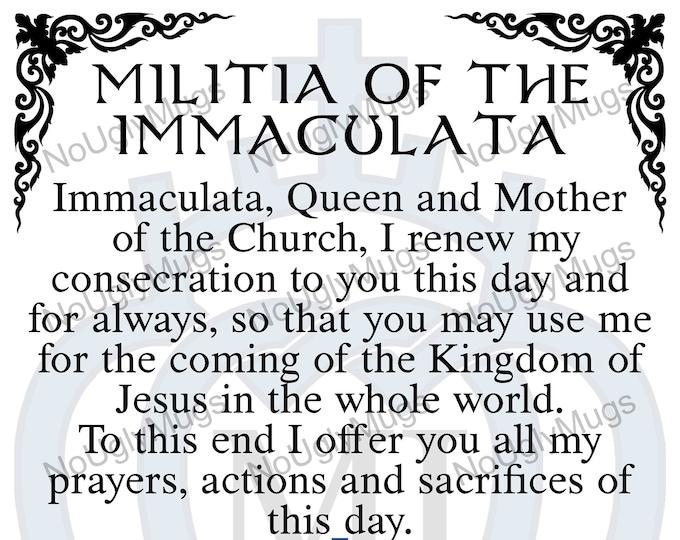 Digital Download: Militia Of The Immaculata