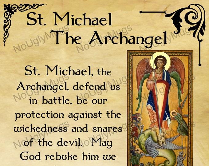 Digital Download: St. Michael The Archangel