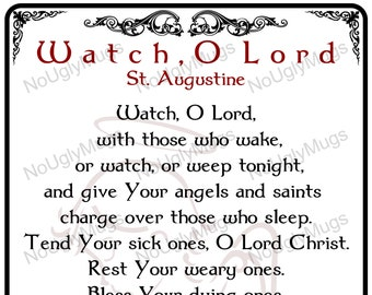 Digital Download: Watch, O Lord by St. Augustine