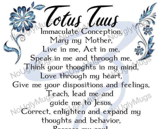 Digital Download: Totus Tuus Prayer of Pope St. John Paul II