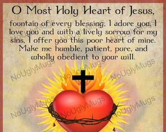 Digital Download: Prayer to the Sacred Heart of Jesus