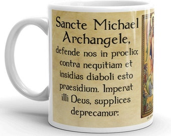 Sancte Michael Archangele -- St. Michael Prayer in Latin