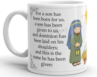 A Son has been given to us