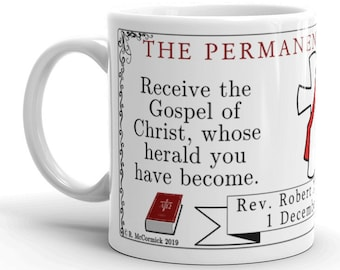 Permanent Diaconate Personalized Mug